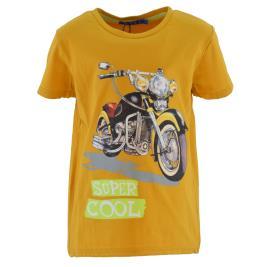 Παιδική Μπλούζα New College 32-9001 Μουσταρδί Αγόρι