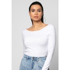 Γυναικεία Μπλούζα Noobass 01-17 Λευκό