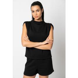 Γυναικεία Μπλούζα Noobass 03-1 Μαύρο