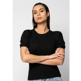 Γυναικεία Μπλούζα Noobass 03-7 Μαύρο