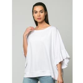 Γυναικεία Μπλούζα Noobass 03-25 Λευκό