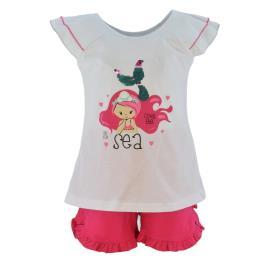Παιδικό Σετ-Σύνολο Trax 39211 Λευκό Κορίτσι