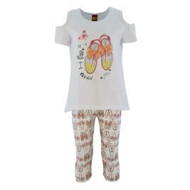 Παιδικό Σετ-Σύνολο Trax 39237 Λευκό Κορίτσι