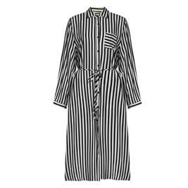 Γυναικείο Φόρεμα Celestino SH1770.8766 Μαύρο Λευκό