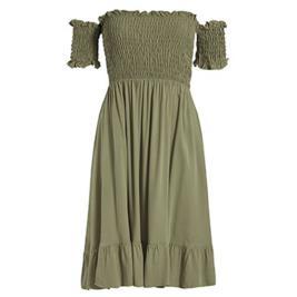 Γυναικείο Φόρεμα Celestino SH7959.8187 Λαδί