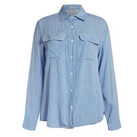 Γυναικείο Πουκάμισο Celestino SH7987.3210 Γαλάζιο Λευκό