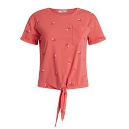 Γυναικεία Μπλούζα Celestino SH7987.4708 Κοραλί