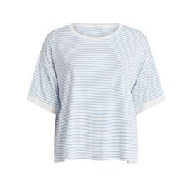 Γυναικεία Μπλούζα Celestino SH9875.4308 Γαλάζιο Λευκό