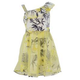 Παιδικό Φόρεμα Εβίτα 214026 Κίτρινο Κορίτσι