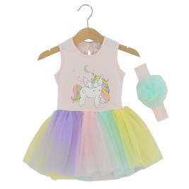Βρεφικό Φόρεμα Εβίτα 214523 Ροζ Κορίτσι