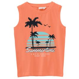 Παιδική Μπλούζα Name It 13190801 Πορτοκαλί Αγόρι