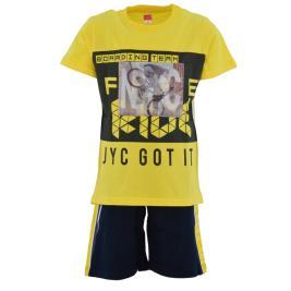 Παιδικό Σετ-Σύνολο Joyce 211726 Κίτρινο Αγόρι