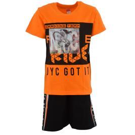 Παιδικό Σετ-Σύνολο Joyce 211726 Πορτοκαλί Αγόρι