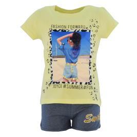 Παιδικό Σετ-Σύνολο Joyce 211551 Κίτρινο Κορίτσι