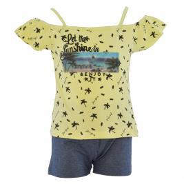 Παιδικό Σετ-Σύνολο Joyce 211550 Κίτρινο Κορίτσι