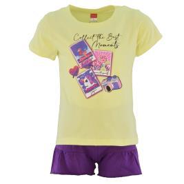 Παιδικό Σετ-Σύνολο Joyce 211144 Κίτρινο Κορίτσι
