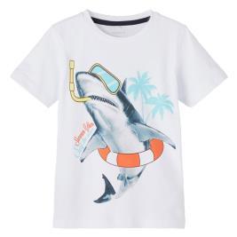 Παιδική Μπλούζα Name It 13189484 Λευκό Αγόρι