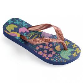 Παιδική Σαγιονάρα Havaianas 4000052-7182 Μπλε Ροζ Χρυσό