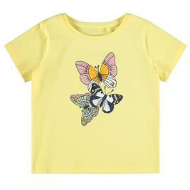 Παιδική Μπλούζα Name It 13187647 Κίτρινο Κορίτσι