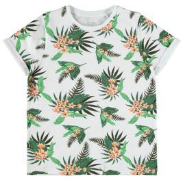 Παιδική Μπλούζα Name It 13187538 Λευκό Αγόρι