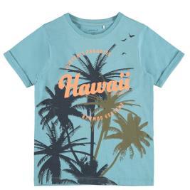 Παιδική Μπλούζα Name It 13187538 Τυρκουάζ Αγόρι