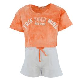 Παιδικό Σετ-Σύνολο Nek 28421 Πορτοκαλί Κορίτσι