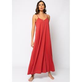 Γυναικείο Φόρεμα Noobass 04-9A Κεραμιδί