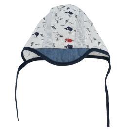Βρεφικό Καπέλο Yo CLU-068 Λευκό Αγόρι