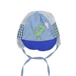 Βρεφικό Καπέλο Yo CLU-095 Μπλε Γαλάζιο Αγόρι