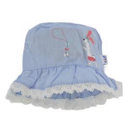 Βρεφικό Καπέλο Yo GKA-195 Γαλάζιο Κορίτσι