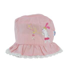 Βρεφικό Καπέλο Yo GKA-195 Ροζ Κορίτσι