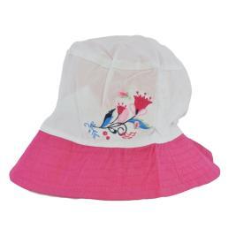 Παιδικό Καπέλο Yo CKA-203 Ροζ Λευκό Κορίτσι