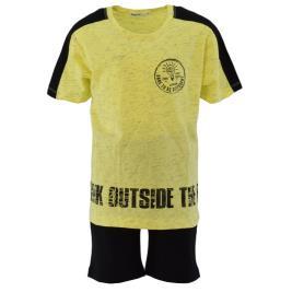 Παιδικό Σετ-Σύνολο Nek 67521 Κίτρινο Αγόρι