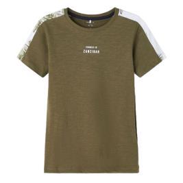 Παιδική Μπλούζα Name It 13190355 Λαδί Αγόρι