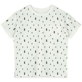 Παιδική Μπλούζα Name It 13190734 Λευκό Αγόρι