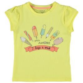 Παιδική Μπλούζα Name It 13190187 Κίτρινο Κορίτσι