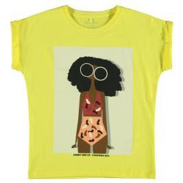 Παιδική Μπλούζα Name It 13190378 Κίτρινο Κορίτσι