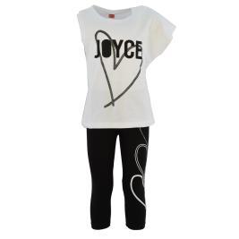 Παιδικό Σετ-Σύνολο Joyce 201329 Λευκό Κορίτσι
