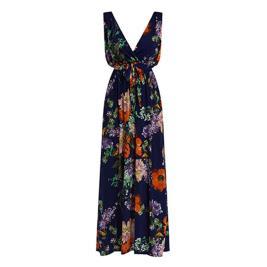 Γυναικείο Φόρεμα Celestino SH8003.8329 Μπλε Πορτοκαλί