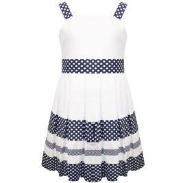 Παιδικό Φόρεμα Energiers 16-221215-7 Λευκό Κορίτσι