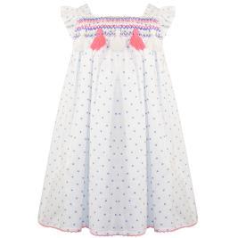 Παιδικό Φόρεμα Energiers 15-221307-7 Λευκό Κορίτσι