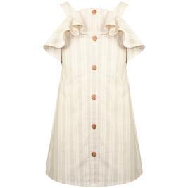 Παιδικό Φόρεμα Energiers 16-221211-7 Nude Ριγέ Κορίτσι