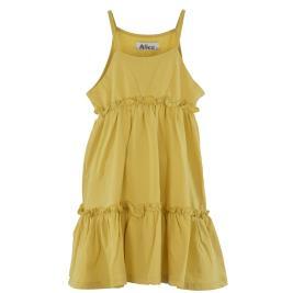 Παιδικό Φόρεμα Alice S21-A1120 Κίτρινο Κορίτσι
