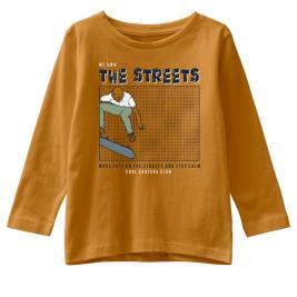 Παιδική Μπλούζα Name It 13192366 Μουσταρδί Αγόρι