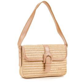 Γυναικεία Τσάντα Verde 01-0001374 Μπεζ
