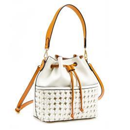 Γυναικεία Τσάντα Verde 16-0006036 Λευκό
