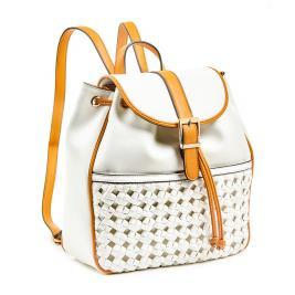 Γυναικεία Τσάντα Verde 16-0006038 Λευκό