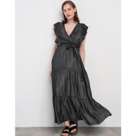 Γυναικείο Φόρεμα Anel 58540 Ανθρακί