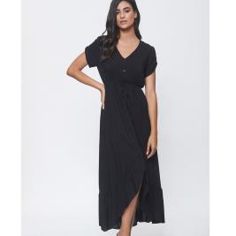 Γυναικείο Φόρεμα Anel 58622 Μαύρο
