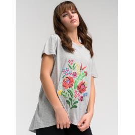 Γυναικεία Μπλούζα Anel 49106 Γκρι